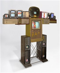 big shoulder by nam june paik