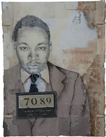 martin luther king by louis boudreault