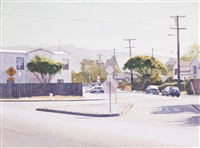 berkeley intersection rose curtis hopkins by robert bechtle