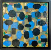 bleu by christine vaillancourt