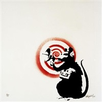 sonic (radar) rat by banksy