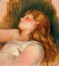 femme enormie (woman sleeping) by pierre-auguste renoir