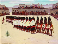 hopi long hair dance by john christopher smith