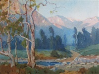 southern california landscape by marion kavanaugh wachtel