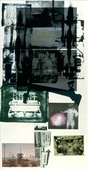 hot shot by robert rauschenberg
