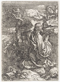 the agony in the garden by albrecht dürer