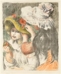 le chapeau epingle, 2e planche by pierre-auguste renoir