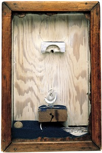 sand fountain by joseph cornell