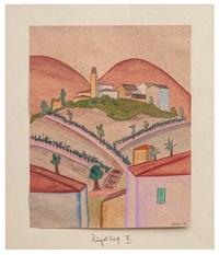 hügeldorf ii (tessin) / hillside village ii (ticino) by hermann hesse