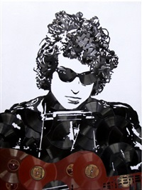 bob dylan by mr. brainwash