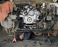 rebuilt engine by justine kurland