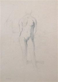 nu debout (standing nude) by balthus
