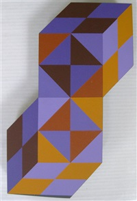 stele by victor vasarely