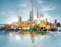 land scape riverside by david lachapelle