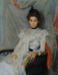 portrait of elizabeth laura mccullough by lydia field emmet
