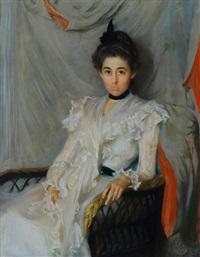 portrait of elizabeth laura mccullough by lydia field emmet