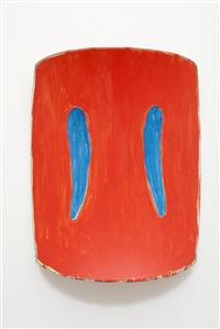 study: vermillion & blue by ron gorchov