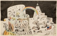 untitled (mesa) by saul steinberg