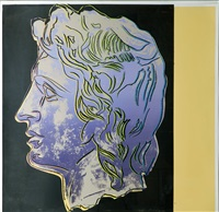 alexander the great tp (iib.291) by andy warhol