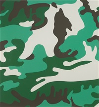 camouflage (ii.406) by andy warhol