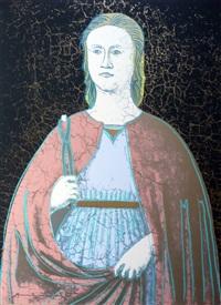 saint apollonia fs ii.331 by andy warhol