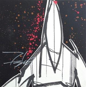 pointman black canvas by futura 2000 (lenny mcgurr)