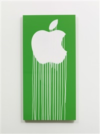 liquidated apple - green by zevs