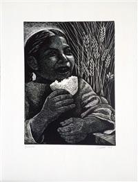 bread by elizabeth catlett