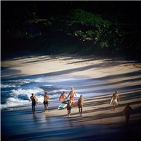 duke contest finalists, sunset beach by leroy grannis