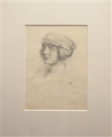 woman with turban by kenneth hayes miller