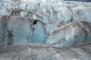on the crevasse by diane burko