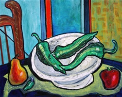 green chiles by rosalea murphy