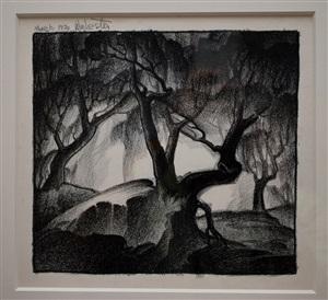 decorative post oak by william lewis lester