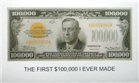 the first $100,000 i ever made by john baldessari