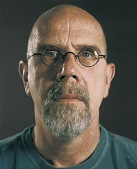 untitled (self-portrait) by chuck close