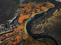 eystri-ranga river, iceland by edward burtynsky