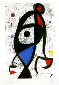 la contre-balancée by joan miró