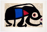 le rat des sables by joan miró