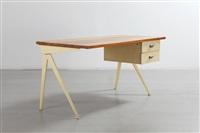 bureau « compas » / « compas » desk by jean prouvé