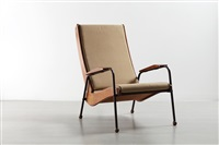 fauteuil visiteur métropole fv 12 / métropole visiteur fv 12 armchair by jean prouvé