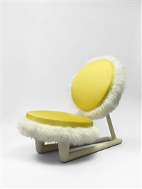 chauffeuse / fireside chair by jean royère