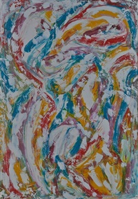 light abstraction by beauford delaney