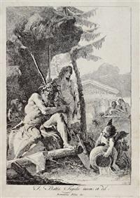 river gods by giovanni domenico tiepolo