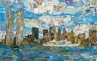 new york postcard (postcards from nowhere) by vik muniz