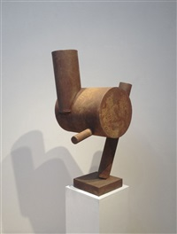 untitled (bird) by richard stankiewicz