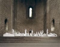 vb62.018.nt santa maria dello spasimo, palermo, italy by vanessa beecroft