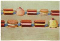 ten candies by wayne thiebaud