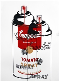 tomato spray by mr. brainwash