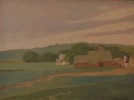 tonal landscape by henry ward ranger