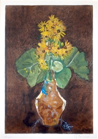 les marguerites (daisies) by georges braque